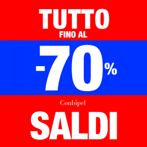 #shoppingexperience: Saldi Conbipel