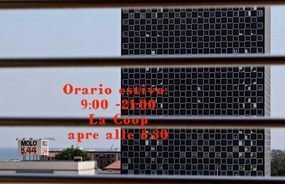 Gli orari estivi di Molo 8.44