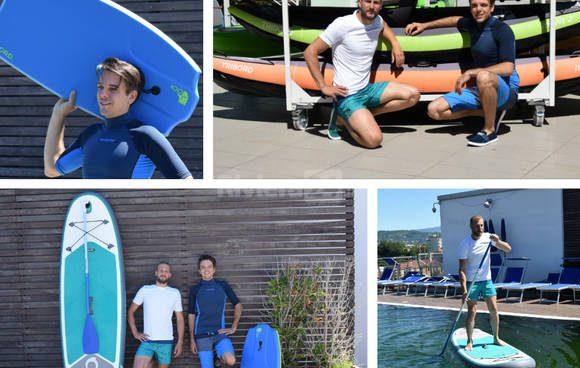 #sportexperience: Questa estate cavalca la cresta dell'onda con le tavole Sup, Body e Skim Board di Decathlon