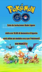 Pokemongo Jack & Jones Vado Ligure