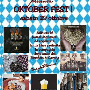 Oktober Fest: sabato 29 Ottobre da Jack & Jones