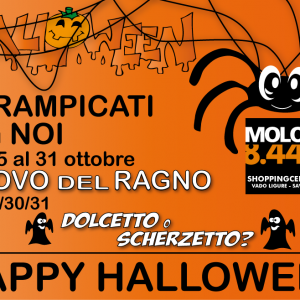 Happy Halloween! Dal 25 al 31 Ottobre a Molo 8.44