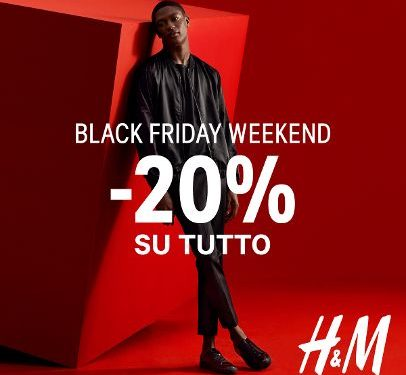 H&M Black Friday Week End!