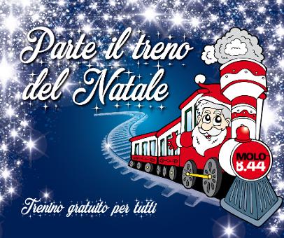 #Christmasexperience: Parte il treno del Natale!