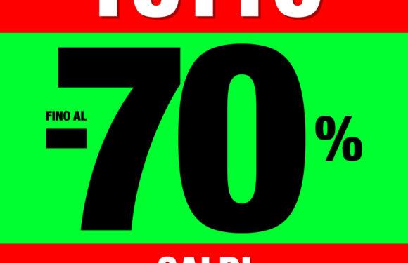 #Shoppingexperience: saldi Conbipel fino al 70%