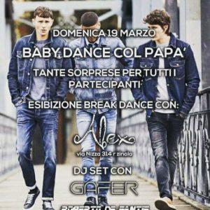 Baby Dance con il papà da Jack & Jones