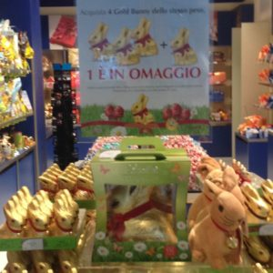 Taste experience: promozione Lindt Gold Bunny
