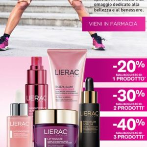 Beauty week Lierac da Farmafree!