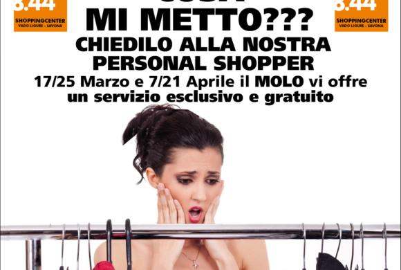 Personal shopper: il servizio esclusivo di Molo 8.44