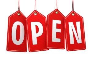 Domani, 25 aprile siamo aperti!