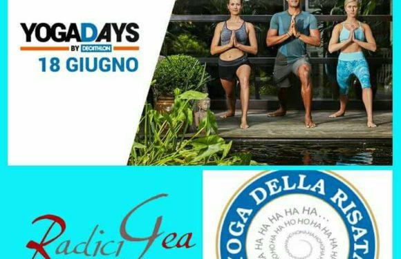 Domenica 18 giugno : YogaDays da Decathlon