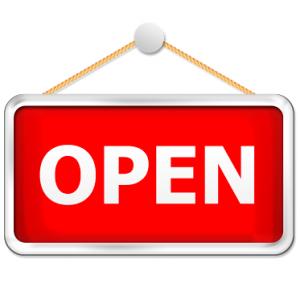 Siamo aperti!