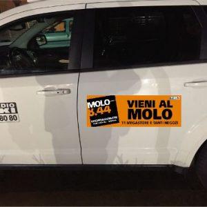 Molo 8.44 sponsor dei taxi savonesi nel 2017