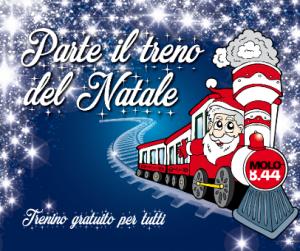 Parte il treno di Molo 8.44 per il Natale