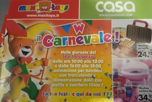 Carnevale Casa Maxy Toys Molo 8.44