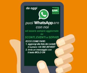 WhatsAppa con il Molo
