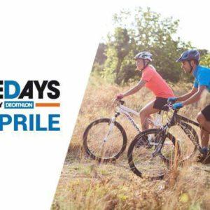 Tornano i Bike Days da Decathlon: sabato 8 aprile tutti in sella!