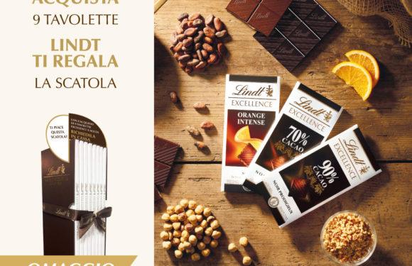 Taste Experience: Lindt ti regala la scatola Excellence
