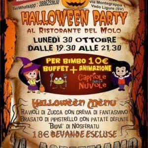 Halloween Party al Ristorante del Molo!