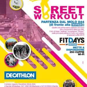 FitDays Decathlon: domenica 8 ottobre ore 10