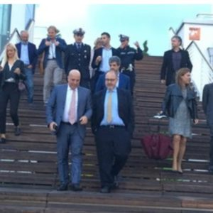 L'Assessore Berrino visita il Molo per certificare un'eccellenza Regionale