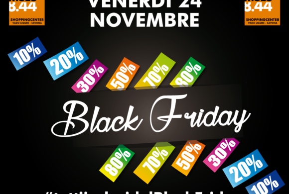Tutti i colori del Black Friday al Molo 8.44