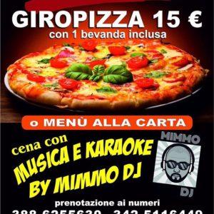 Giropizza, musica e karaoke al ristorante del Molo! ???