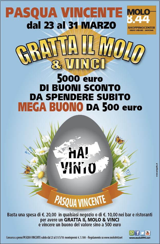 Pasqua vincente con Gratta il Molo e vinci!
