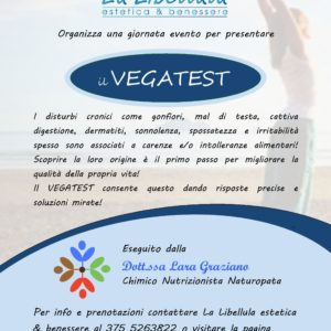 "Vegatest da ""La Libellula"""