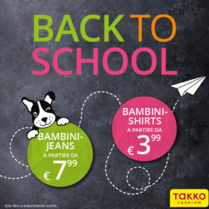 Back to School da Takko