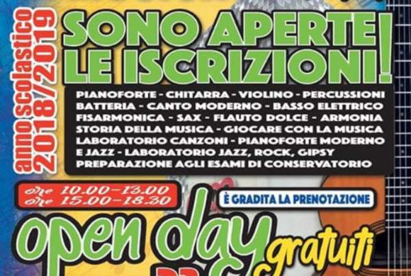 Open Day alla Scuola Comunale di Musica