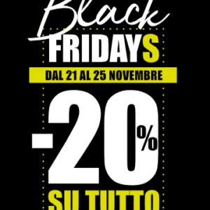 Black Friday da ConTe scarpe e moda