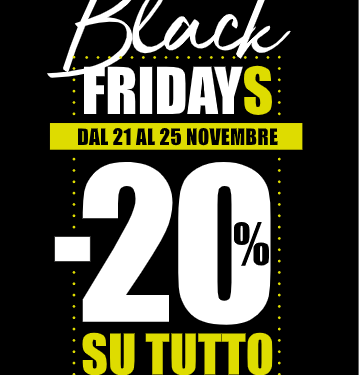 Black Friday da ConTe scarpe e moda