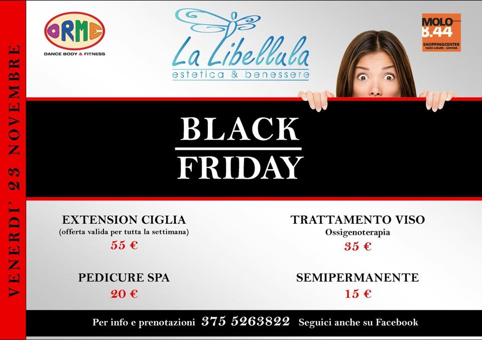 Black Friday da la Libellula