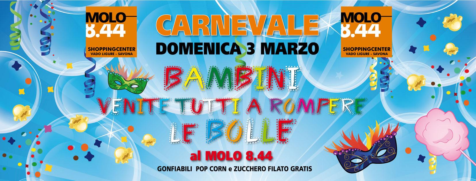 Carnevale al Molo 8.44 !