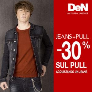 DeN: Jeans + Pull -30%