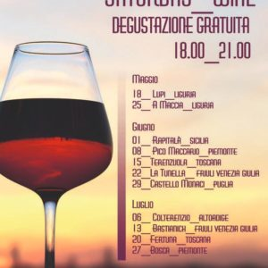 Saturday Wine sabato 1 giugno: Rapitalà