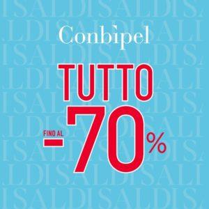 Saldi Conbipel fino al 70%