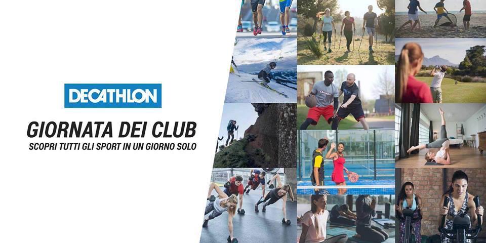 Giornata dei club da Decathlon