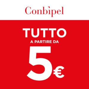 Saldi Conbipel: tutto a partire da 5,00 €