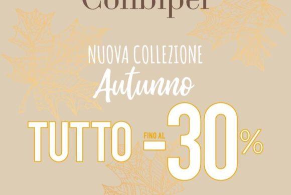 Club Conbipel: sconti collezione autunnale