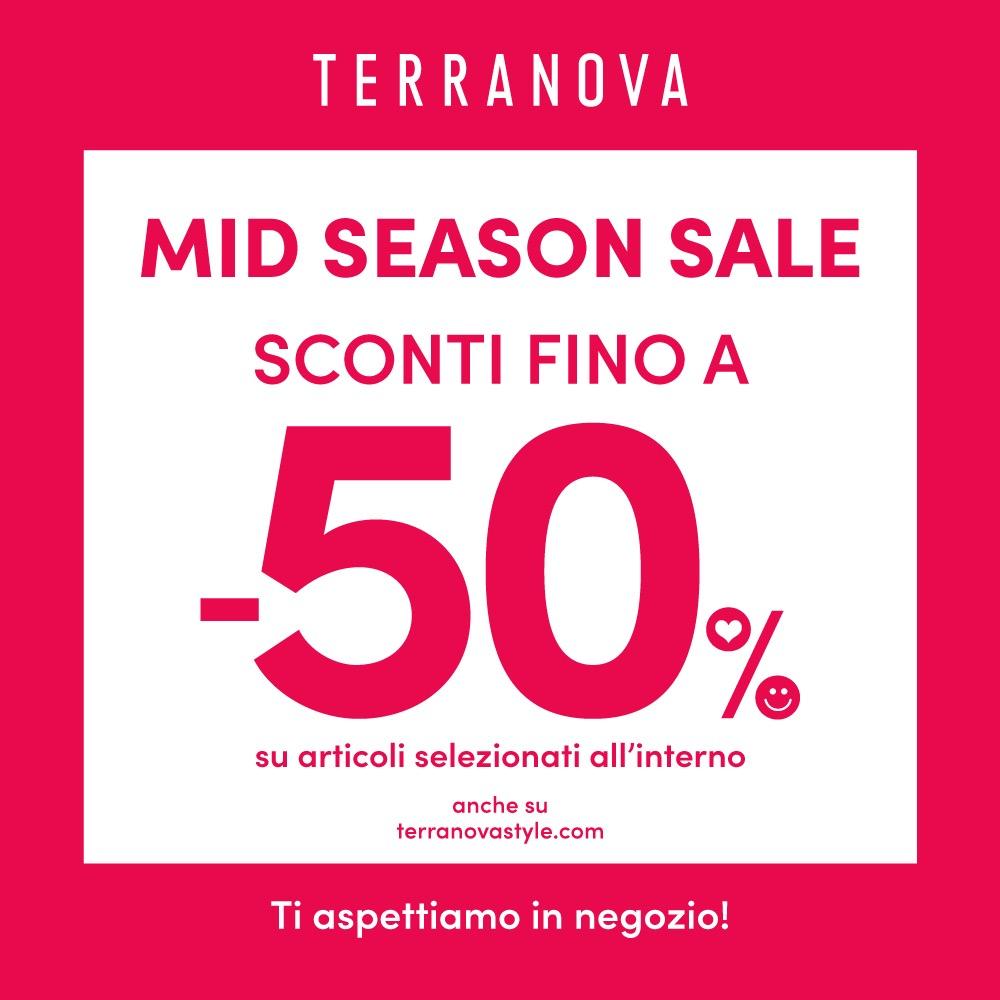 Mid season sale da Terranova