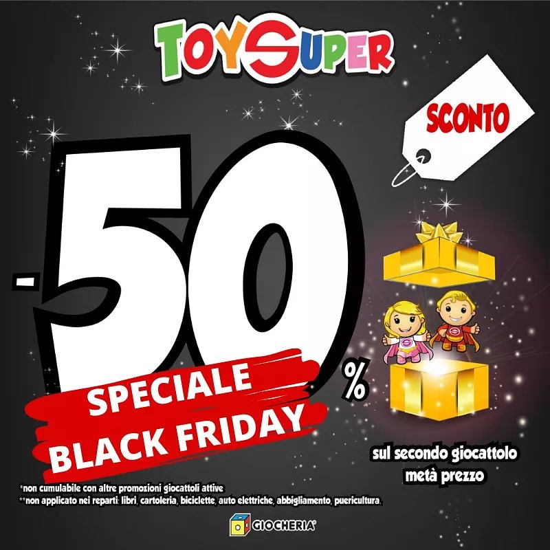 ⚫️ Black Friday da Toys ⚫️