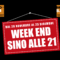Apertura fino alle 21 nei week end!