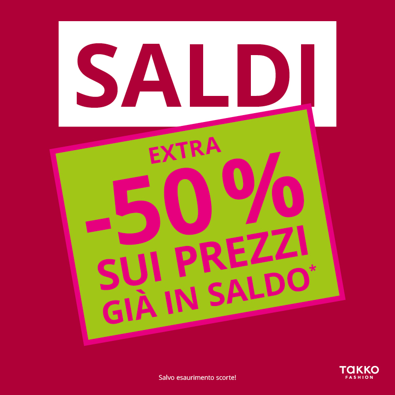 Saldi da Takko Fashion