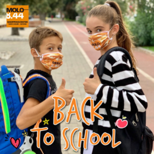 #BackToSchool days al Molo 8.44!