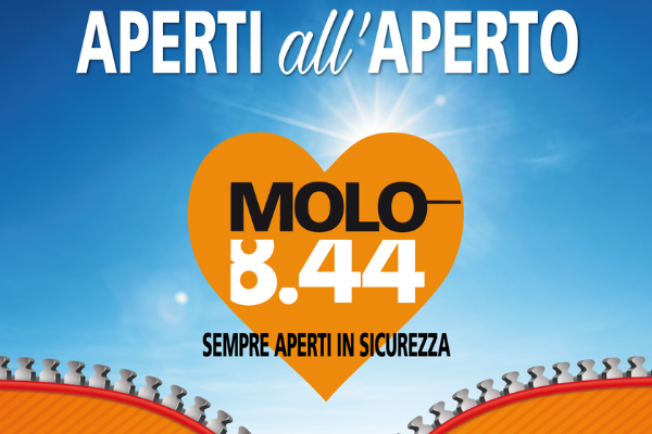 Al Molo 8.44 fai shopping in sicurezza!